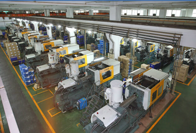 plastic injection molding factory from China