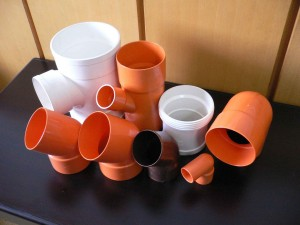 Plastic PVC fitting product