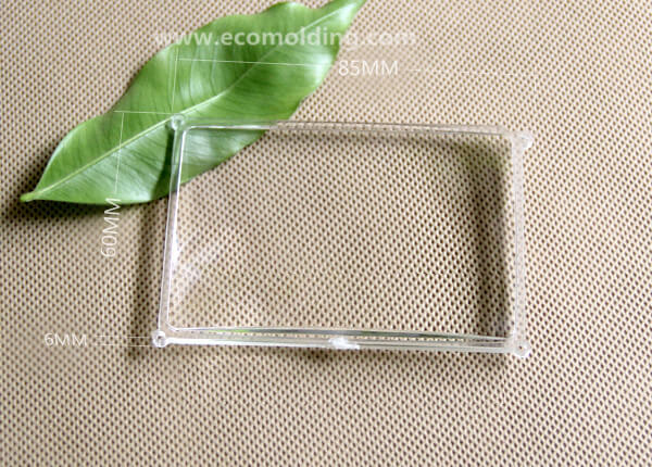 Optics molding Square Lens