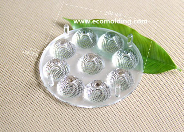 optics molding LED lens