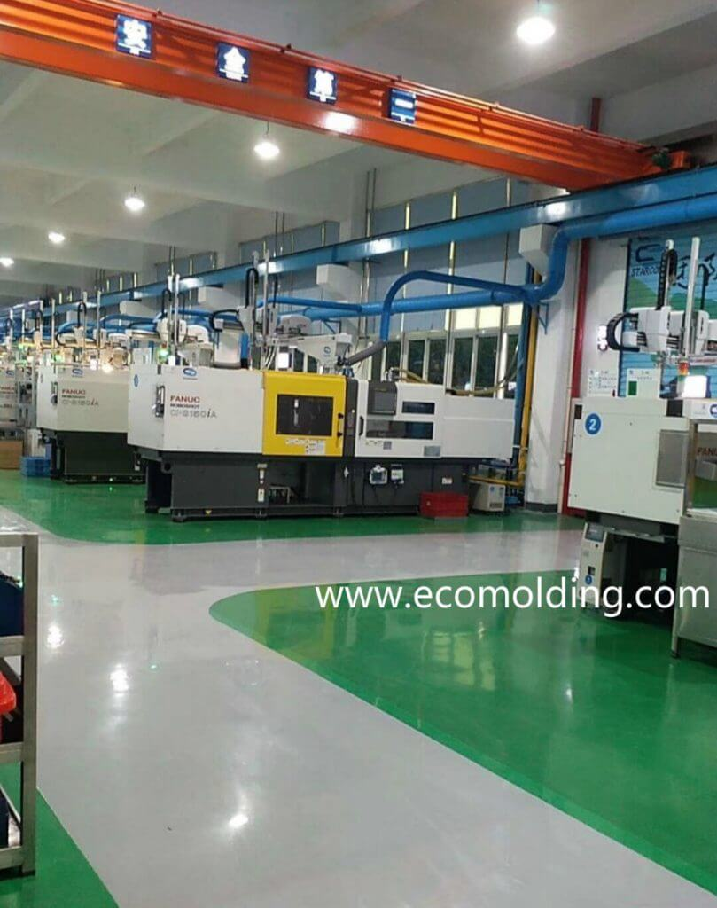 Plastic injection molding company from China
