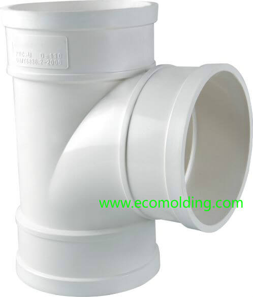 PVC injection molded product