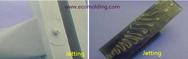 jetting plastic injection molding defects
